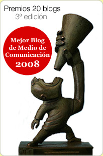 Premio 20Blogs al Mejor Blog de Medio de Comunicación en 2008