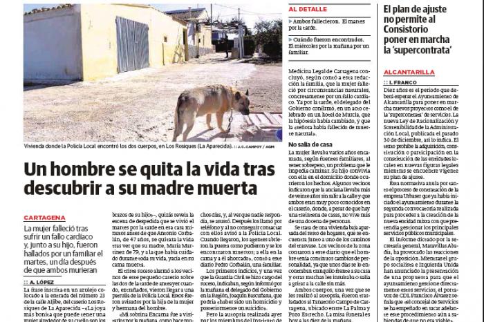 El Ayuntamiento de Alcantarilla tiene que renunciar a la supercontrata